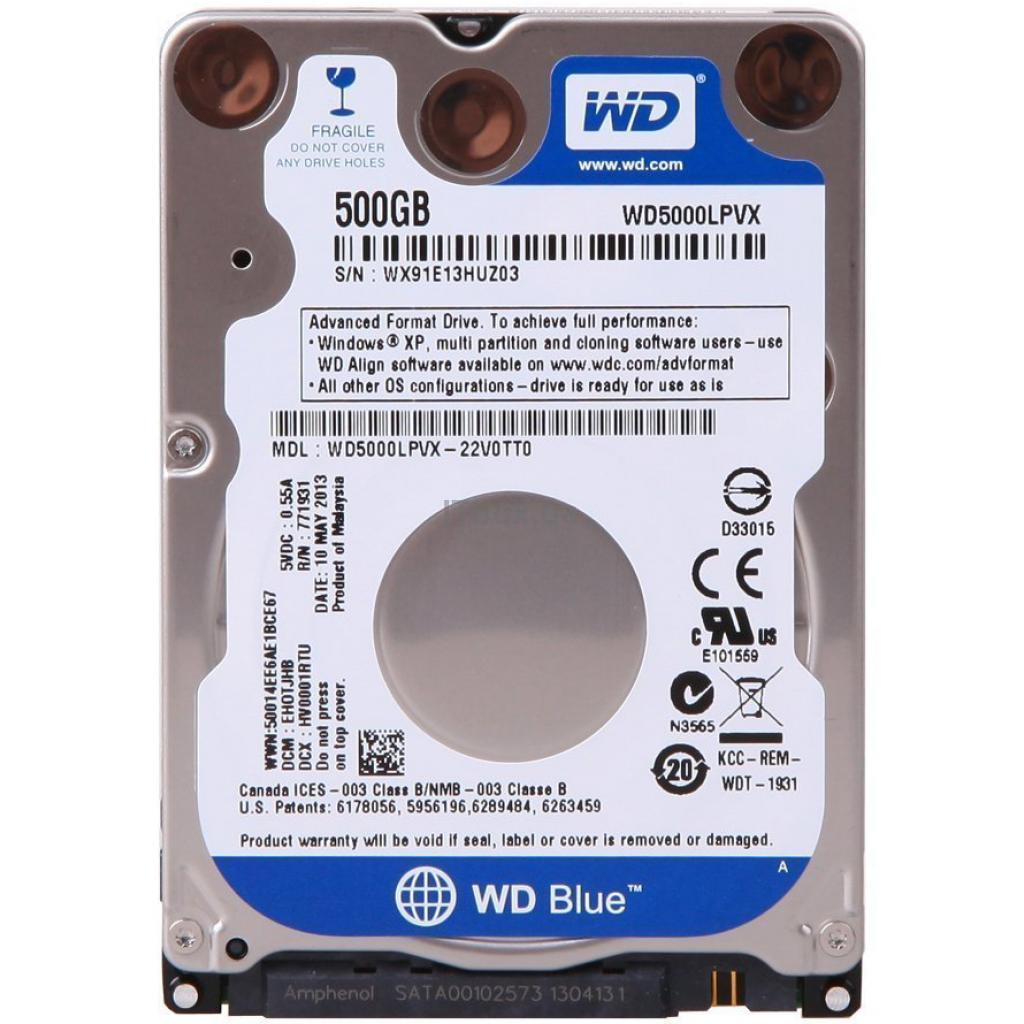 Western Digital 25 500GB