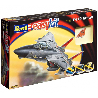 revell Easy Kit Самолет F-14 Tomcat 1:100 6623