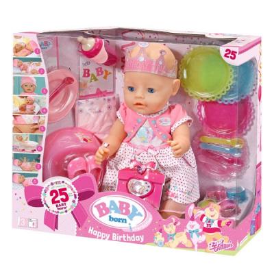 Кукла Zapf Baby Born С Днем Рождения 43 см (822036)