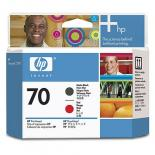 Печатающая головка HP No.70 Matte Black and Red Фото