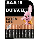Батарейка Duracell LR03 * 18 Фото