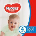 Подгузник Huggies Classic 4 Mega 68 шт Фото