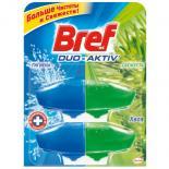 Туалетный блок Bref Duo-Aktiv Хвоя 2 запаски х 50 мл Фото