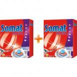 Таблетки для посудомоечных машин Somat Все в 1 52 шт + вторая упаковка в подарок Фото