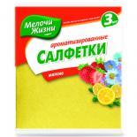 Салфетки для уборки Мелочи Жизни универсальные ароматизированные 3 шт Фото