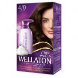 Краска-мусс для волос Wellaton стойкая 4/0 Темный шоколад Фото