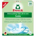 Таблетки для посудомоечных машин Frosch Сода 30 шт Фото