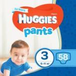 Подгузник Huggies Pants 3 для мальчиков (6-11кг) 58 шт Фото