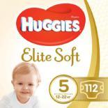 Подгузник Huggies Elite Soft 5 (12-22 кг) 112 шт Фото