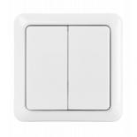 Кнопка управления беспроводными выключателями Trust AWST-8802 Double wireless wall switch Фото