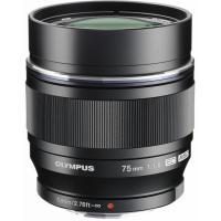 Объектив Olympus ET-M7518 75mm 1:1.8 Black Фото