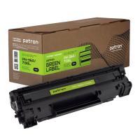 Картридж PATRON HP LJ CB436A/CANON 713 GREEN Label Фото