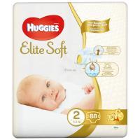Подгузник Huggies Elite Soft 2 Mega 88 шт Фото