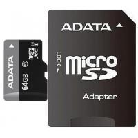 Карта пам'яті ADATA 64GB microSD class 10 UHS-I Фото