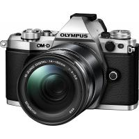 Цифровой фотоаппарат OLYMPUS E-M5 mark II 14-150 II Kit silver/black Фото