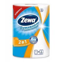 Паперові рушники Zewa 2 в 1 2-слойные 1 шт Фото
