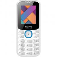 Мобильный телефон Nomi i184 White-Blue Фото