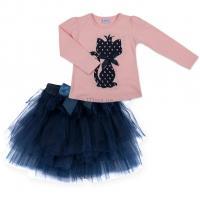 Набор детской одежды Breeze кофта цикламен и юбка из фатина синяя Фото