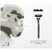 Набор для бритья Gillette Бритва Mach3 Turbo+2сменные кассеты+Гель Extra Co Фото