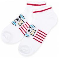 Шкарпетки Bross с футбольным мячом белые Фото