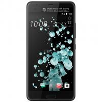 Мобильный телефон HTC U Ultra 4/128Gb Brilliant Black Фото