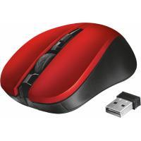 Мышка Trust Mydo Silent wireless mouse red Фото