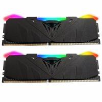 Модуль памяти для компьютера Patriot DDR4 16GB (2x8GB) 3200 MHz Viper RGB Black Фото