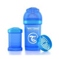 Бутылочка для кормления Twistshake антиколиковая 180 мл, голубая Фото