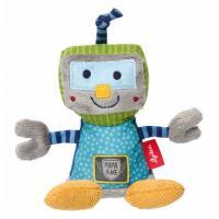 М'яка іграшка Sigikid Робот 16 см Фото