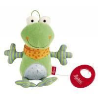 М'яка іграшка Sigikid музыкальная Лягушка 21 см Фото