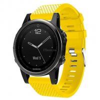 Смарт-часы Garmin Fenix 5s Sapphire Black with Yellow Silicon Фото 1e9813d65f9db