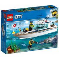 Конструктор LEGO City Яхта для дайвинга 148 деталей Фото