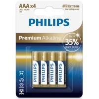 Батарейка Philips AAA LR03 Premium Alkaline * 4 Фото