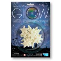 Игровой набор 4М Светящиеся наклейки Звезды, 16 штук Фото