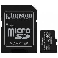 Карта памяти Kingston 32GB micSDHC class 10 Canvas Select Plus 100R A1 Фото