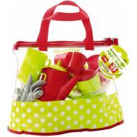 Игровой набор Ecoiffier прозрачная сумочка с набором посуды Фото