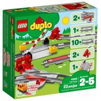 Конструктор LEGO DUPLO Town Рельсы 23 деталей Фото