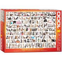Пазл Eurographics Мир кошек, 1000 элементов Фото