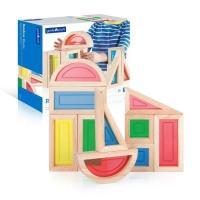 Ігровий набір Guidecraft стандартных блоков Block Play Большая радуга, 10 ш Фото