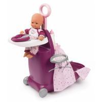 Аксесуар до ляльки Smoby Baby Nurse Прованс раскладной чемодан 3 в 1 с аксе Фото