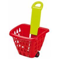 Игровой набор Ecoiffier Корзина для супермаркета на колесах со складной ру Фото
