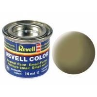 Аксессуары для сборных моделей Revell Краска эмалевая 42. Желто-оливковая матовая, 14 м Фото