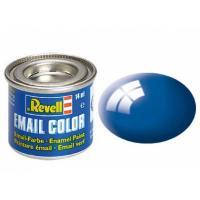 Аксессуары для сборных моделей Revell Краска эмалевая 52. Синяя глянцевая, 14 мл Фото