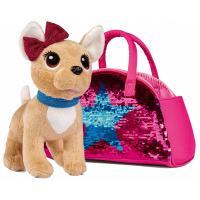 Мягкая игрушка Chi Chi Love Чихуахуа. Звезда с пайетками с сумочкой, 20 см Фото