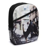Рюкзак шкільний Mojo Бруклин Брейкданс Черный мульти Фото