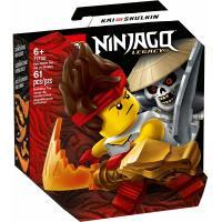 Конструктор LEGO Ninjago Грандиозная битва Кай против армии скелето Фото