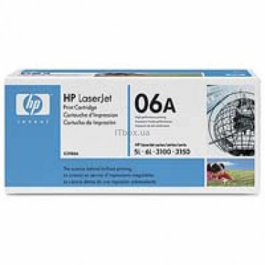 Картридж HP LJ 5L/6L (C3906A) - фото 1