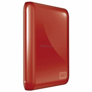 """Зовнішній жорсткий диск 2.5"""" 1TB WD (WDBACX0010BRD-EESN) - фото 1"""