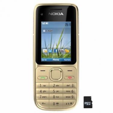 Мобільний телефон C2-01 Warm Silver Nokia (002V410) - фото 1