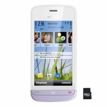 Мобильный телефон C5-03 White Lilac Nokia (002V997) - фото 1